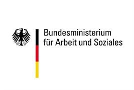 Logo vom Bundesministerium für Arbeit und Soziales