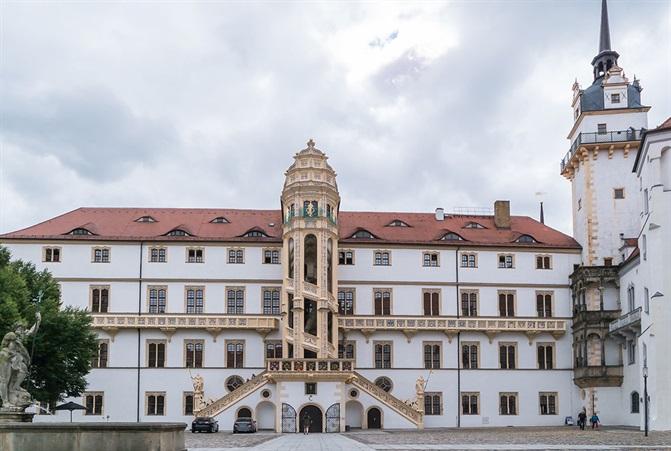 Foto von Torgau Schloss Hartenfels
