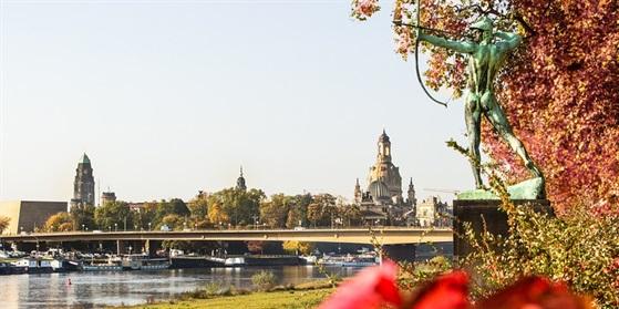 Foto von Elbsilhouette Dresden