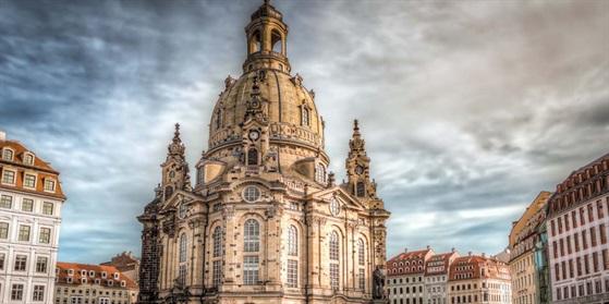 Bild von der Frauenkirche in Dresden