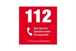 Logo von Notruf-Nummer 112