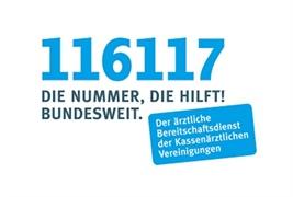 Logo von Notruf-Nummer 116117