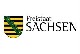 Logo vom Freistaat Sachsen