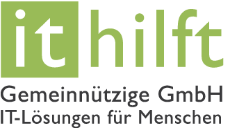 Logo of IT Helps non-profit GmbH IT solutions for people
