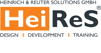 Logo of Heinrich und Reuter Solutions GmbH Design, Development, Training